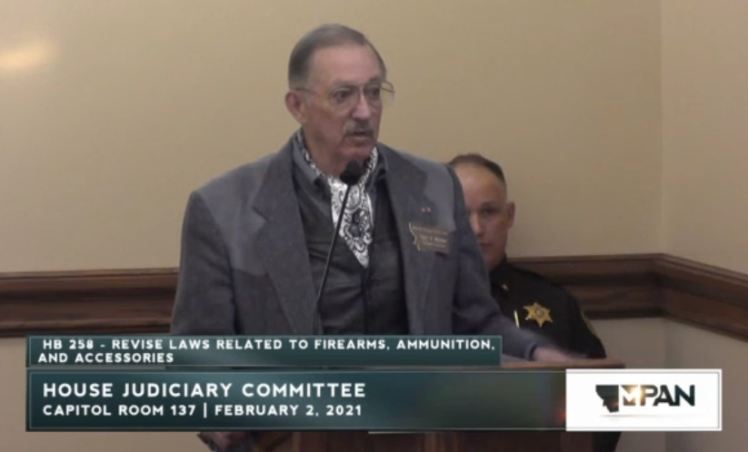 Watch: HB258 in House Judiciary Committee   The Most Important Bill For Montana Gun Owners To Support in 2021