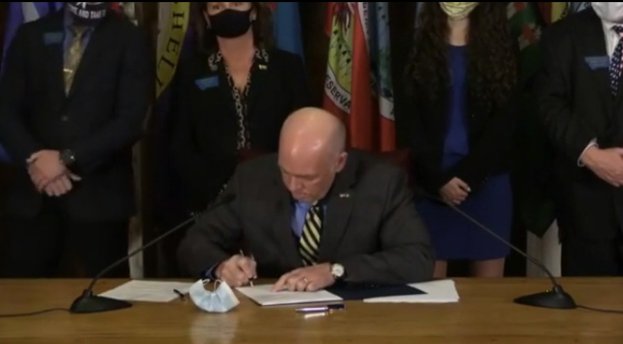 Watch: Signing Ceremony Of HB102 Into Law By Governor Gianforte & Explanation of LR130 & HB102 by Gary Marbut